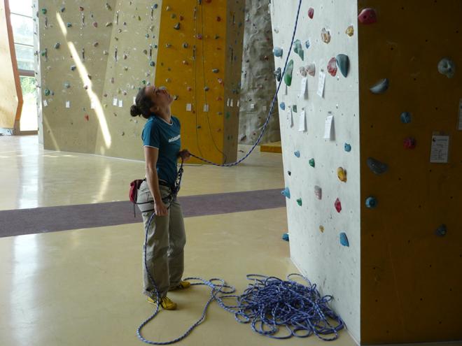 Klettergurt Toprope : Toprope kletterkurs für erwachsene